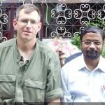 Pastor Jyothi with Rev. Joel