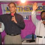 Rev. Ude, preaching at Davulooru CLCI Congregation